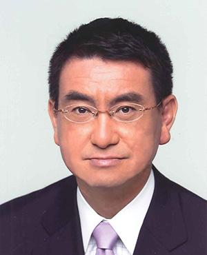 湘南国際マラソン名誉会長 河野 太郎氏